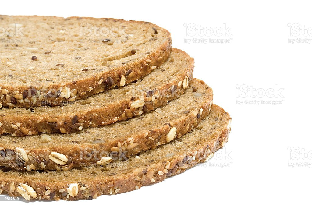 Bread slices royalty-free stock photo