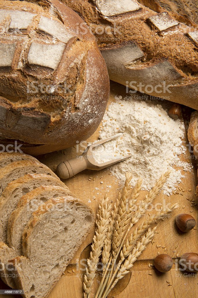 Bread Stills: Variety stock photo