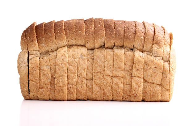 Bread - whole wheat stock photo