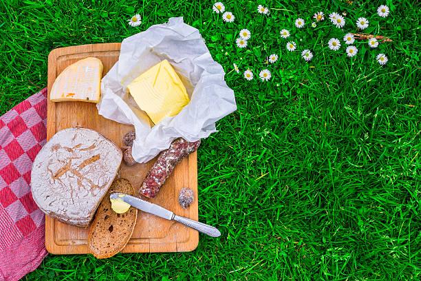Brot-und-butter und Käse – Foto
