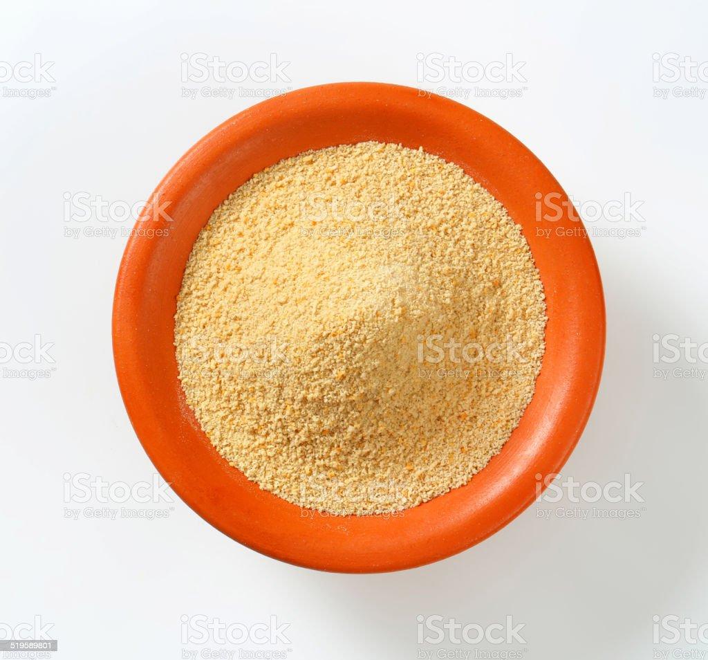 Breadcrumbs stock photo