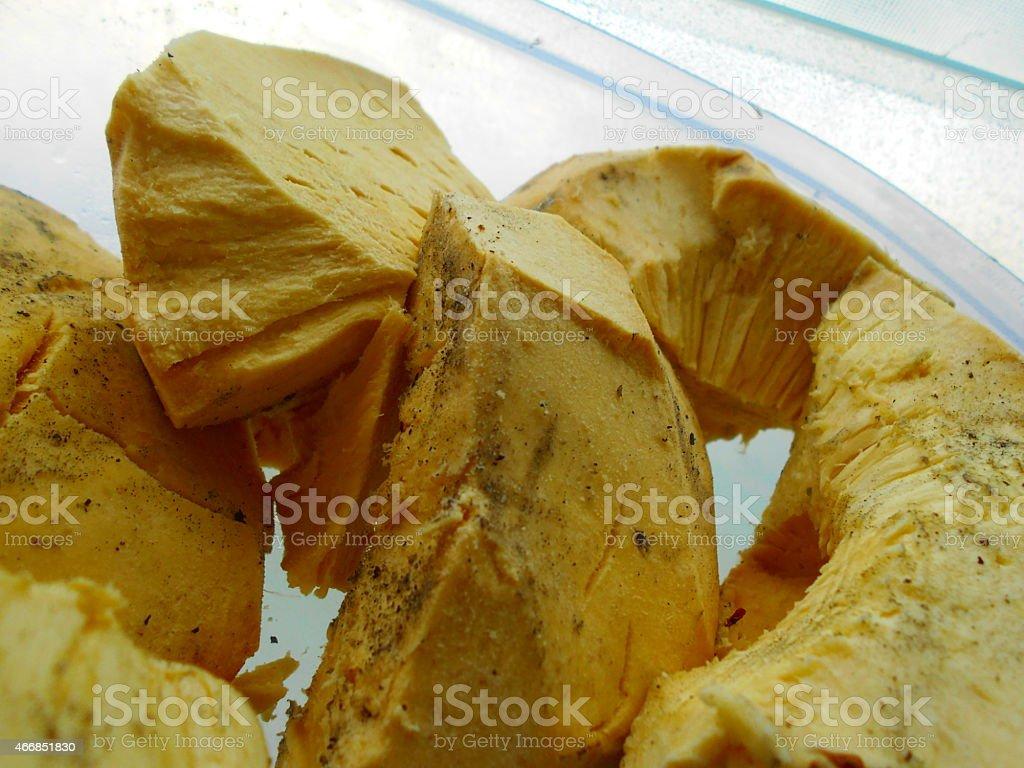 breadfruit ready to eat stock photo