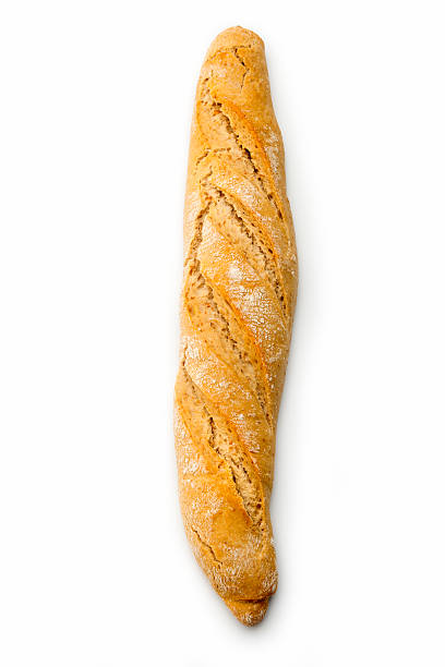 Breads : Baguette stock photo