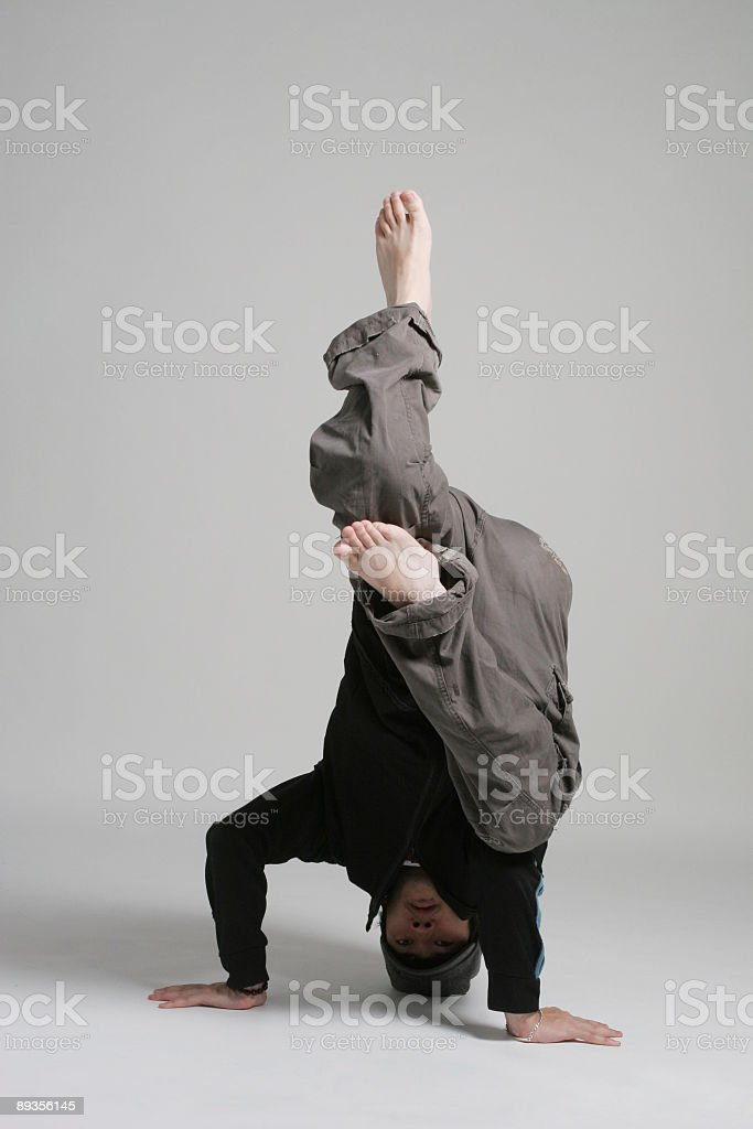 Break dance royalty-free stock photo