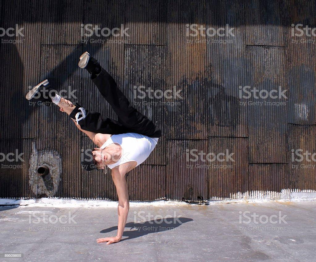 Danseur de pause photo libre de droits