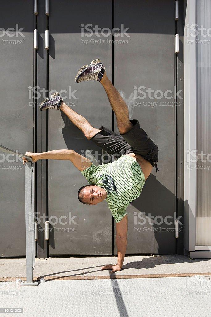 Break Dancer royalty-free stock photo