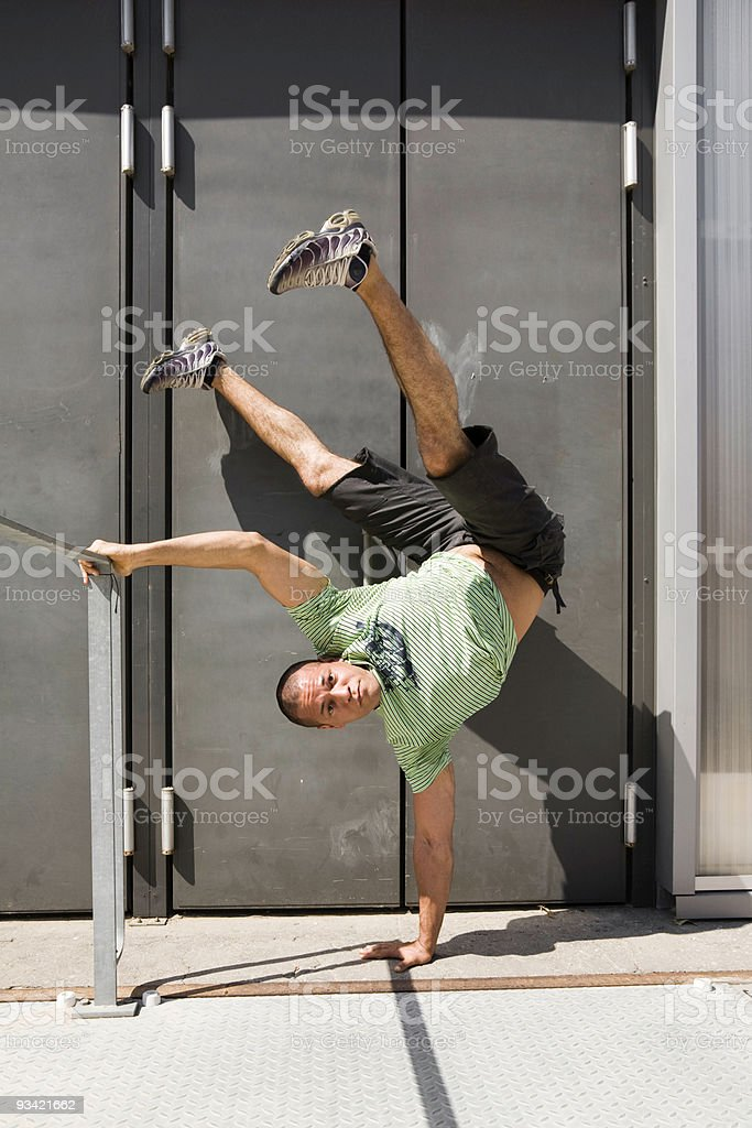 Break Dancer stock photo