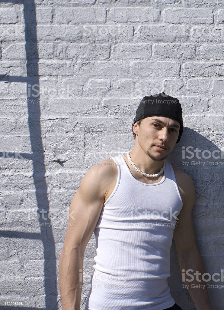 break dancer portrait royalty-free stock photo