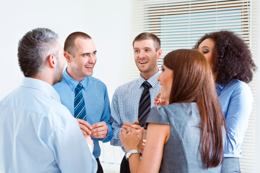 Break In An Office Stock Photo - Download Image Now