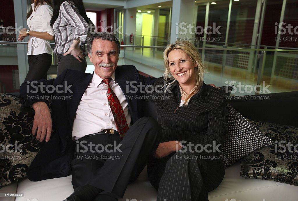 Break in business building royalty-free stock photo