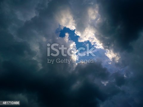 istock Break in the Clouds 481710466