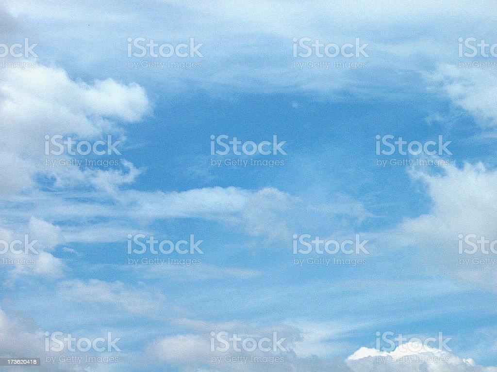 Break in the Sky royalty-free stock photo