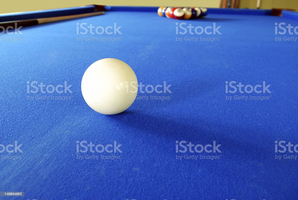 Blue Felt Pool Table Pictures, Images And Stock Photos