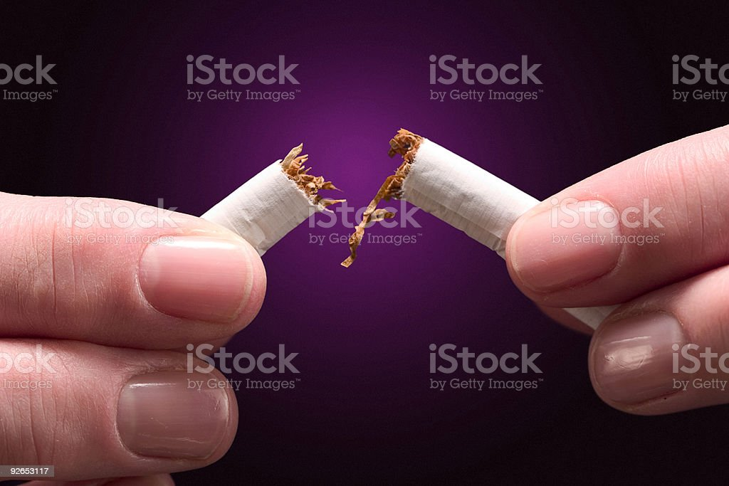 Break that habit royalty-free stock photo