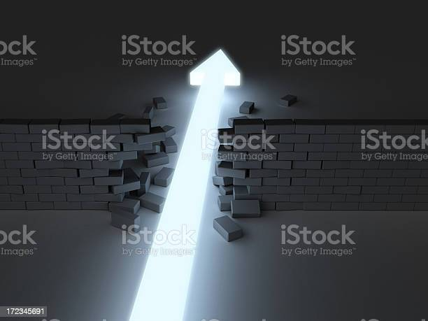 Break Through 2 Stock Photo - Download Image Now