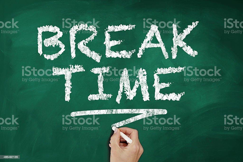 Break Time royalty-free stock photo