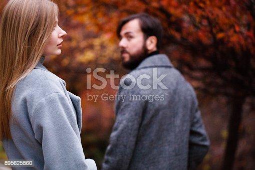 544331632istockphoto Break up of a couple 895625860