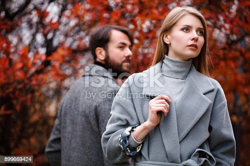 istock Break up of a couple 899669424
