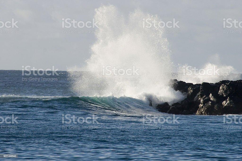 Break Waters stock photo