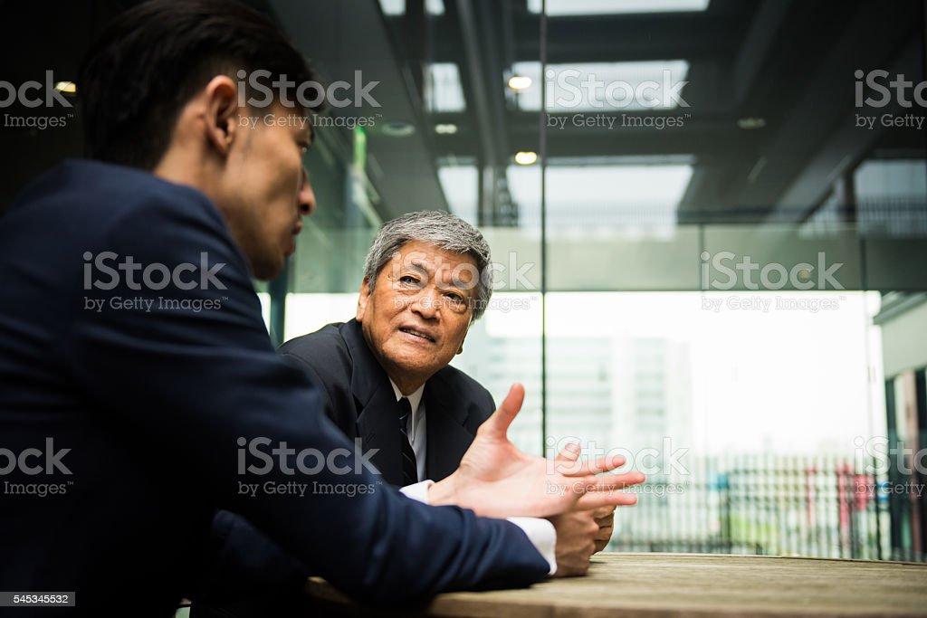 裁断可能なビジネスミーティング ストックフォト