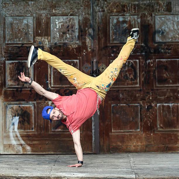 Breakdancer stock photo