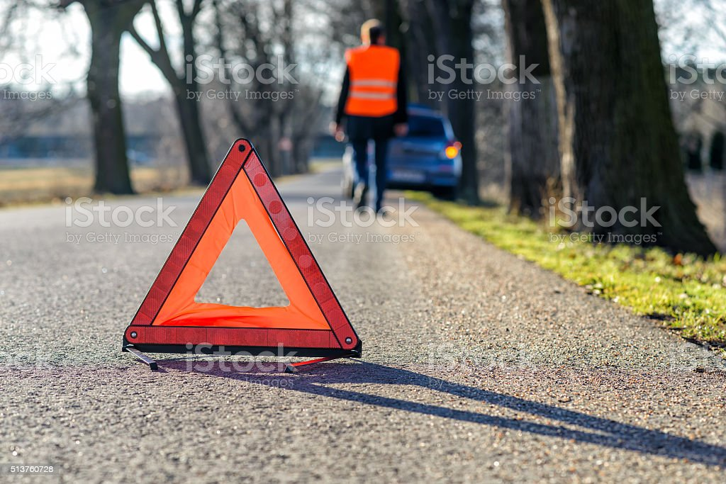 Breakdown stock photo
