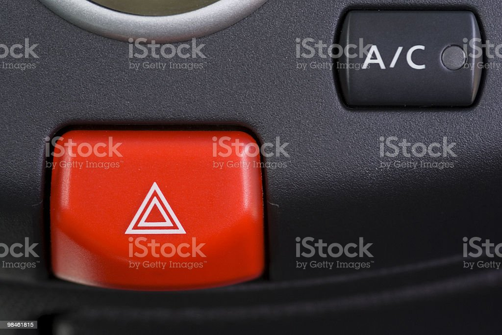 Breakdown signal royalty-free stock photo