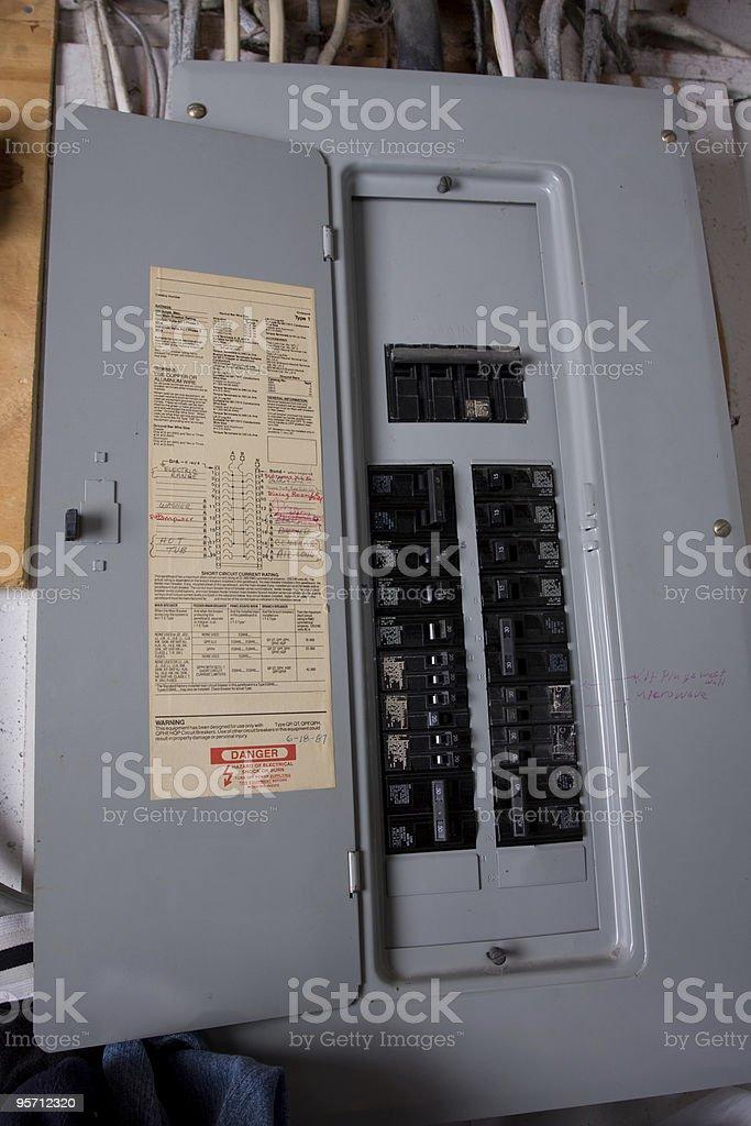 Breaker Box stock photo