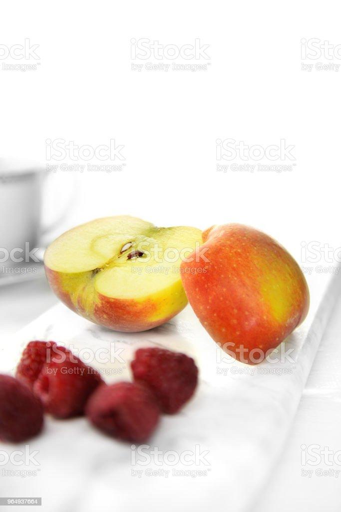 Breakfast Apple Image stock photo