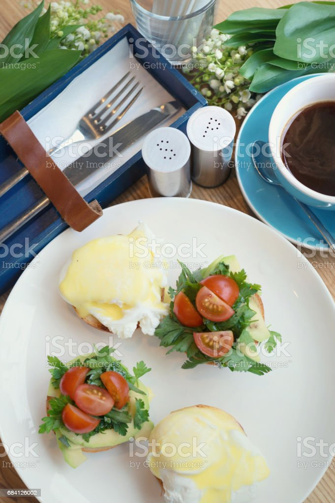 Breakfast as a background. Concept and idea of tasty food royalty free stockfoto