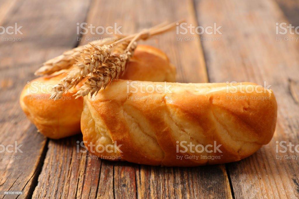 breakfast bread royalty-free stock photo