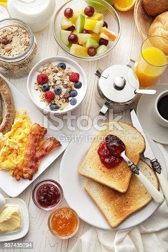 Breakfast: Breakfast Table Still Life
