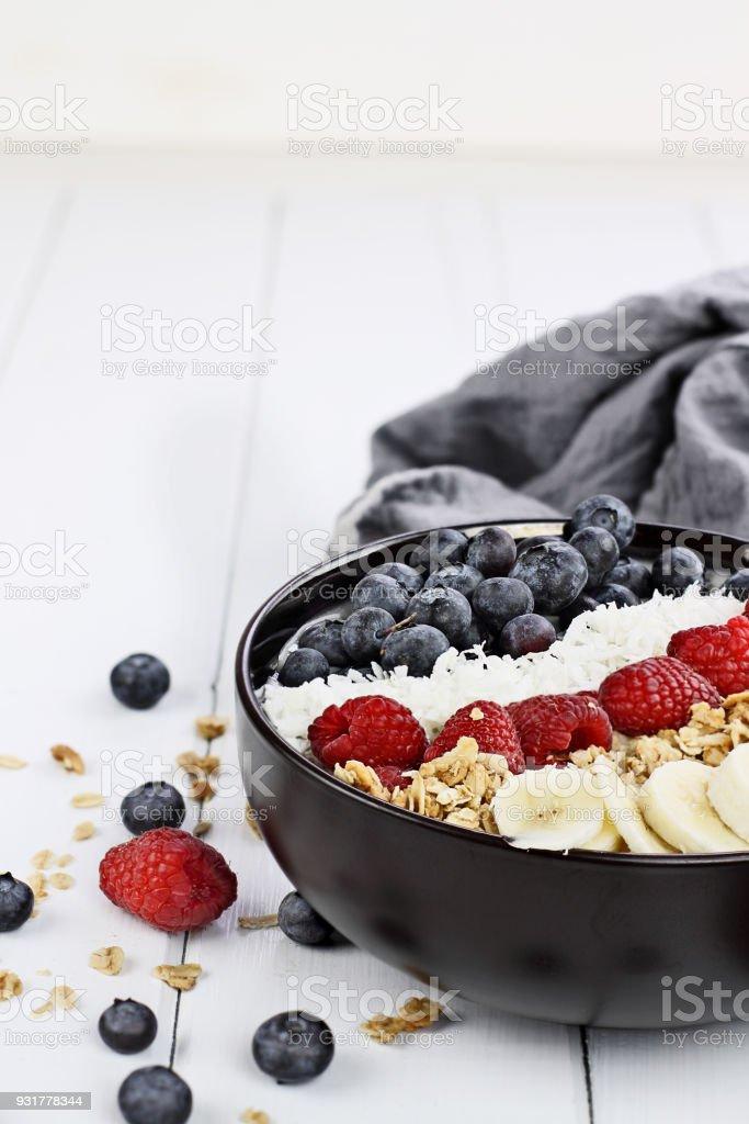 Breakfast Buddha Bowl stock photo