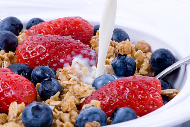 Breakfast Cereal 2 stock photo