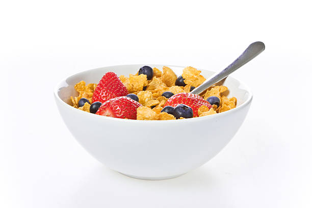 Breakfast cereal bowl  cereal stock pictures, royalty-free photos & images