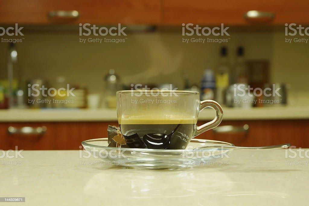 breakfast coffee royalty-free stock photo