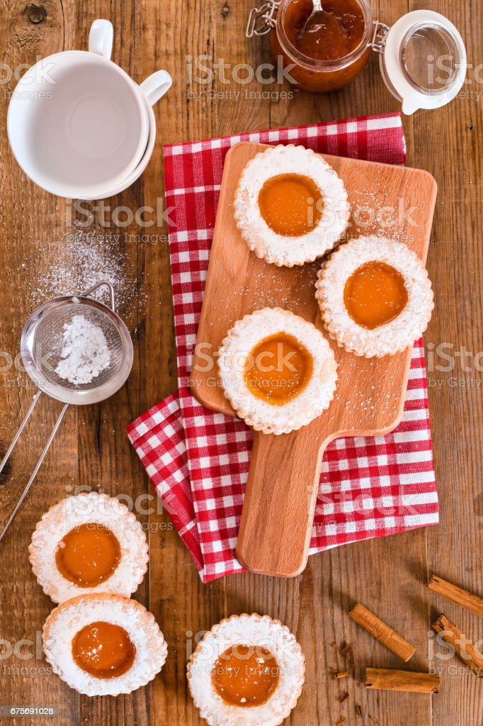 Breakfast cookies. royalty-free stock photo