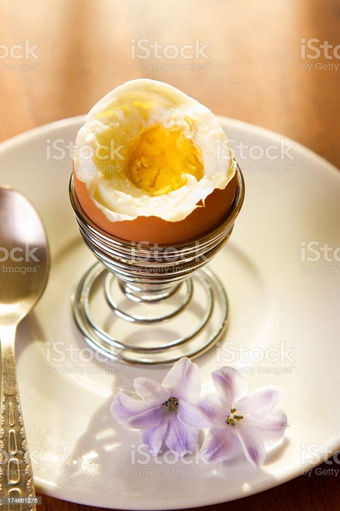 Breakfast egg royalty-free stock photo