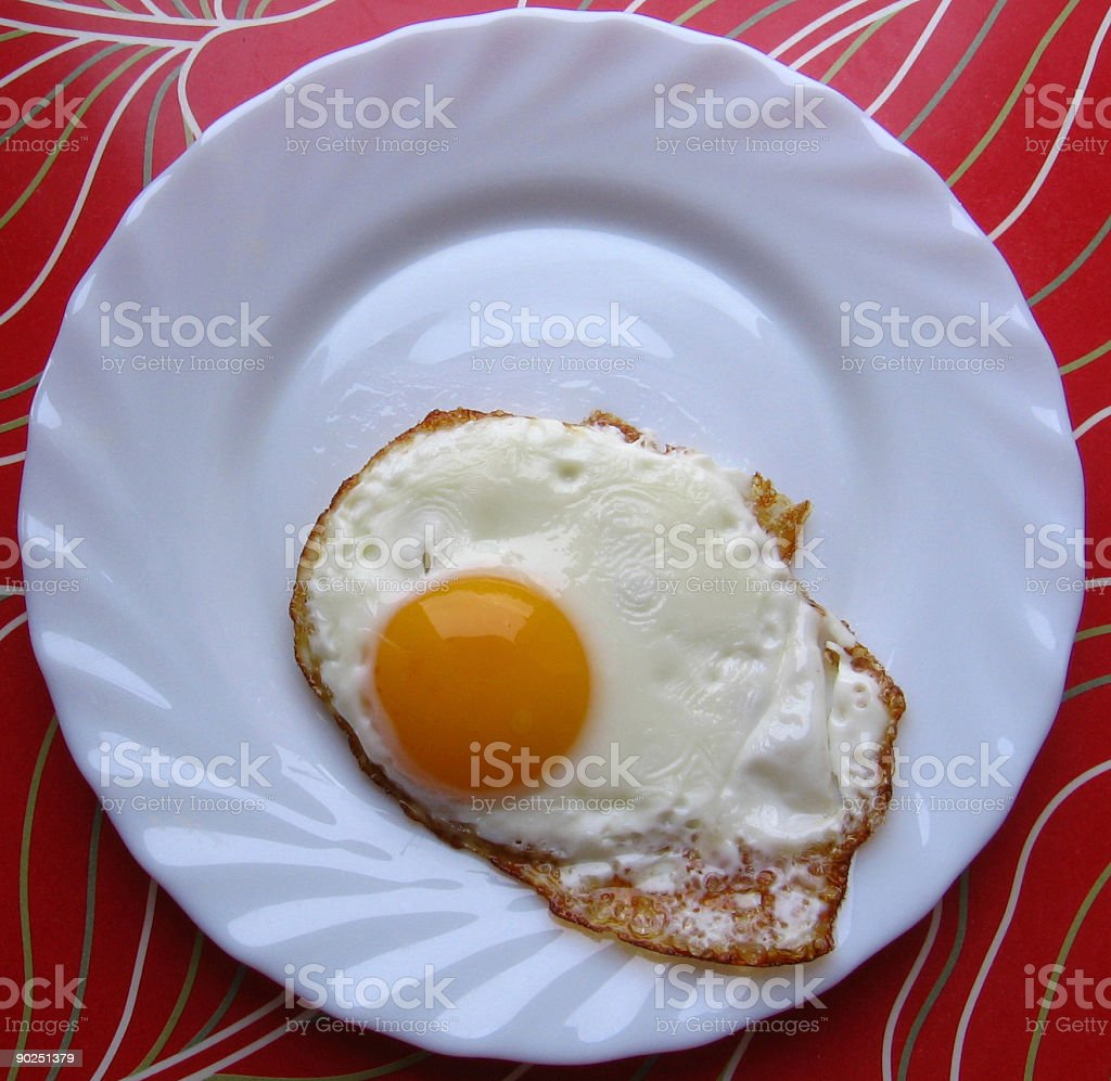 Breakfast egg royalty-free stock photo