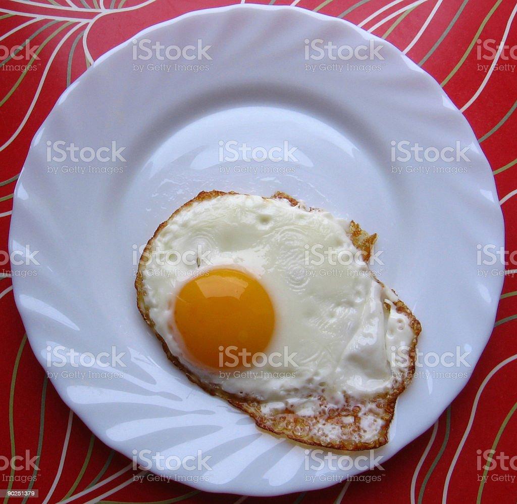 Breakfast egg stock photo