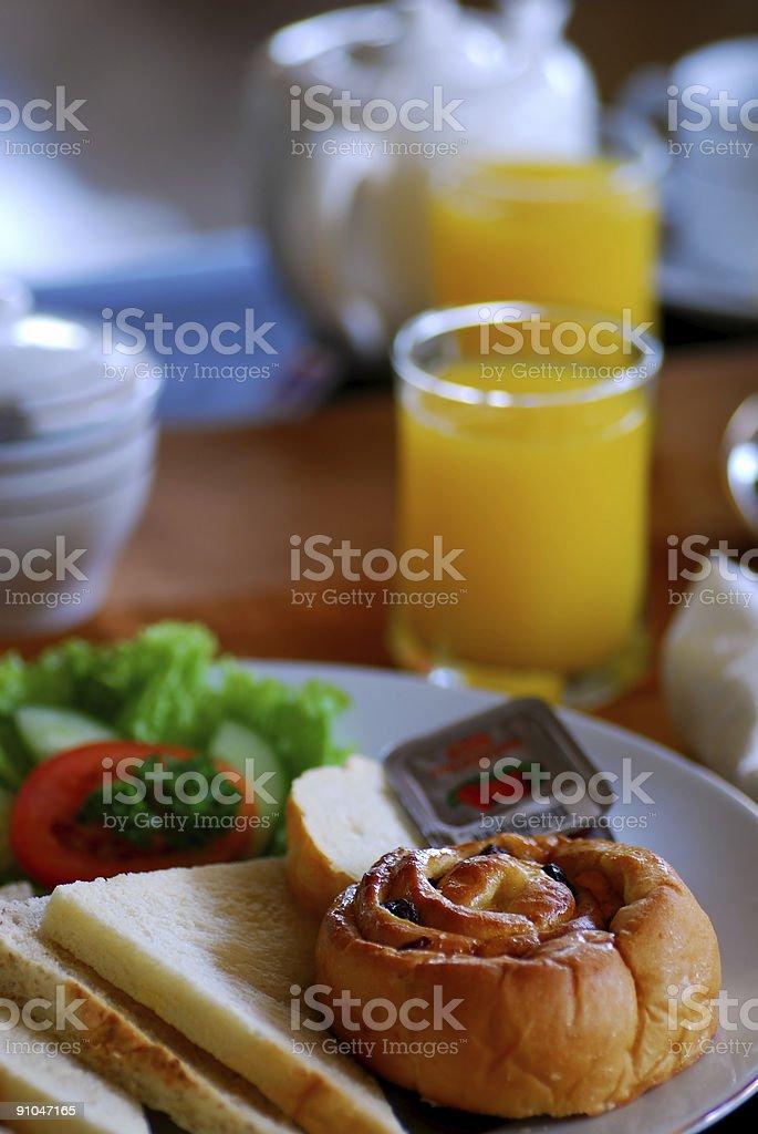 Breakfast food royalty-free stock photo