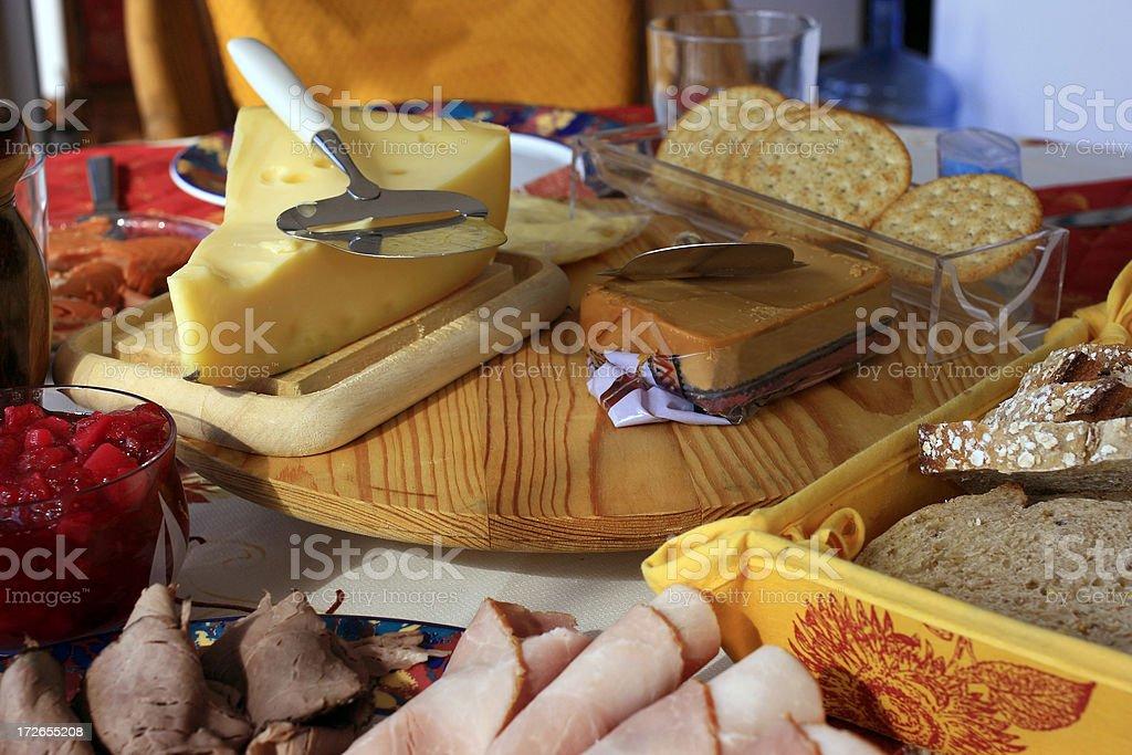 Breakfast Food Spread royalty-free stock photo