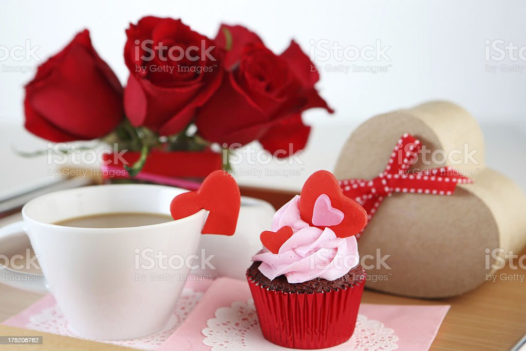 breakfast for special occassion royalty-free stock photo