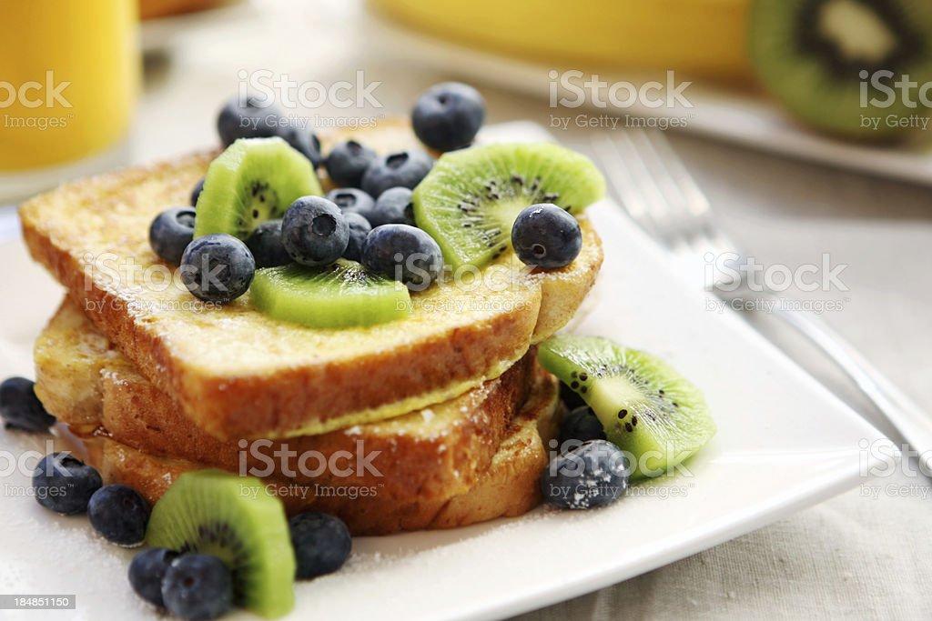 breakfast- french toast royalty-free stock photo