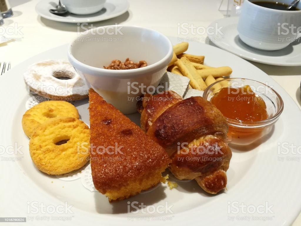 Breakfast gluten free - foto stock