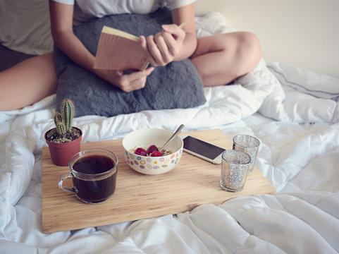 683349444 istock photo Breakfast in bed 1006062658