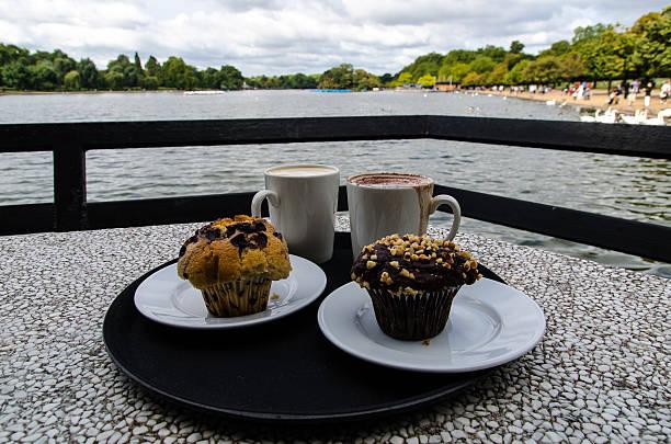 Desayuno en Hyde Park - foto de stock