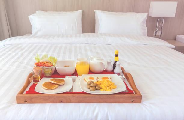 Frühstück/Tee-Sortiment im Zimmer – Foto