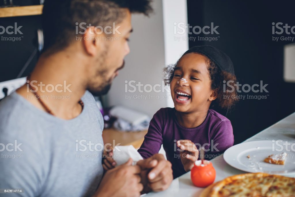 Breakfast is more than food, it'u2019s a time to connect stock photo