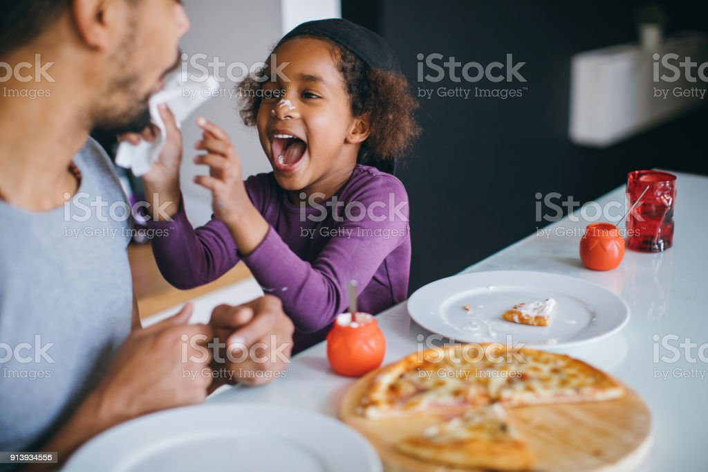 Breakfast is more than food stock photo